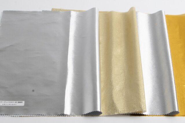 金・銀 4色ドレープ